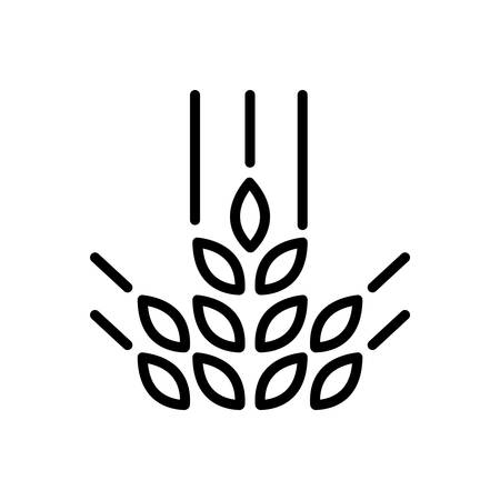 Agriculture plant  icon Banque d'images - 123563692