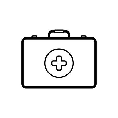 First aid box icon Banque d'images - 123672086