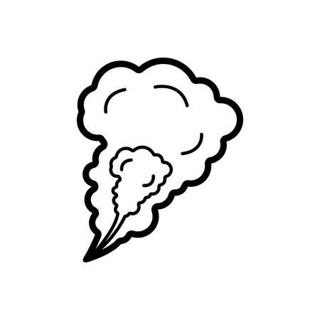 Smoke icon Иллюстрация
