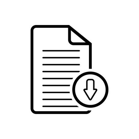 Document download app icon