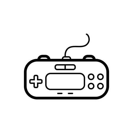 Control  pad icon Ilustrace