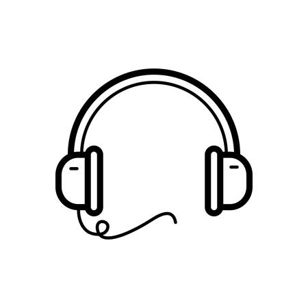 Headphone icon Stock fotó - 123672880