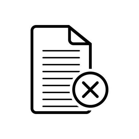 Cancel agreement icon Imagens - 123672887