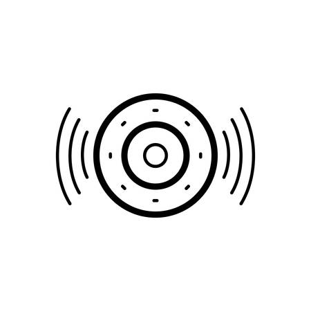 Speaker icon Ilustrace