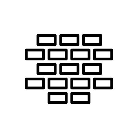Brick icon Illusztráció