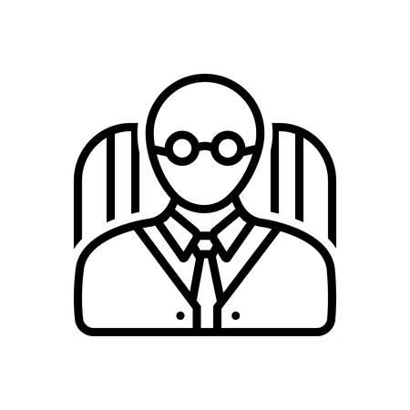Icono principal Ilustración de vector