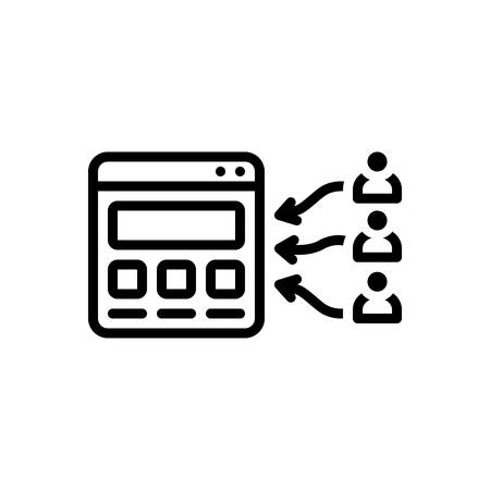 Prospect icon  イラスト・ベクター素材