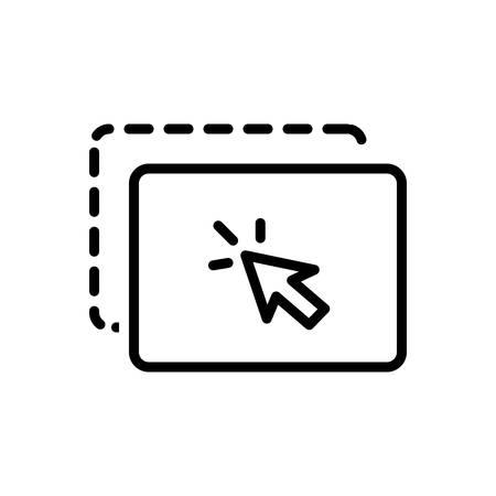 Drag icon Ilustração