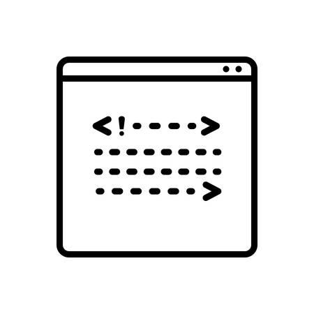 Coading icon 写真素材 - 124082860
