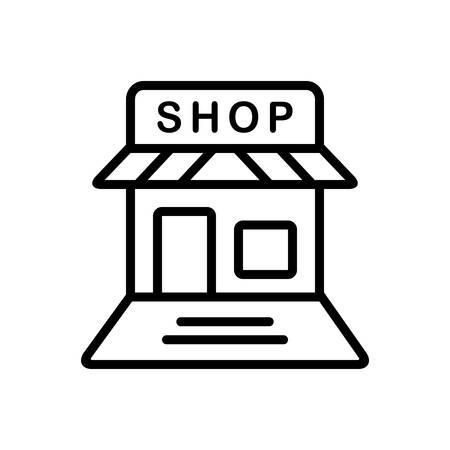 Shop icon Ilustracja