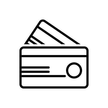 Credit card icon Ilustrace