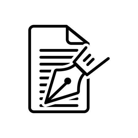 Editorial icon Ilustração