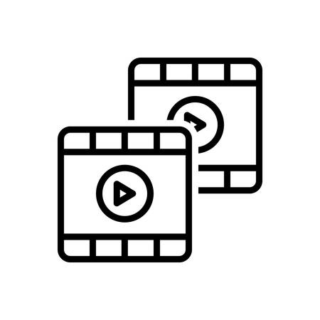 Video icon Ilustracja