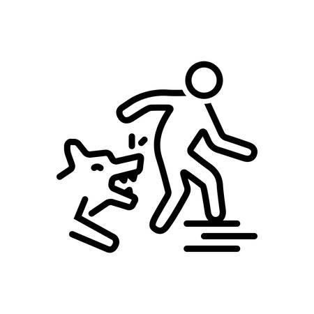 Dog bites icon