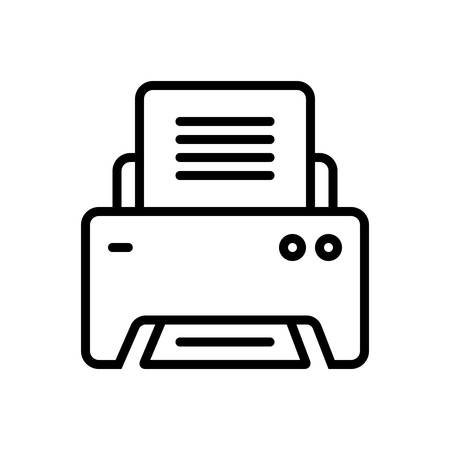 Printer icon Stock Illustratie