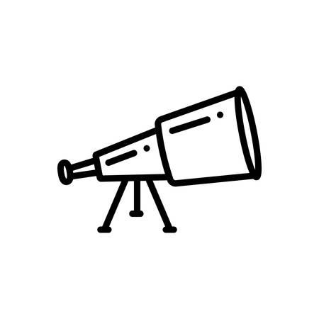 Telescope  icon Ilustracja