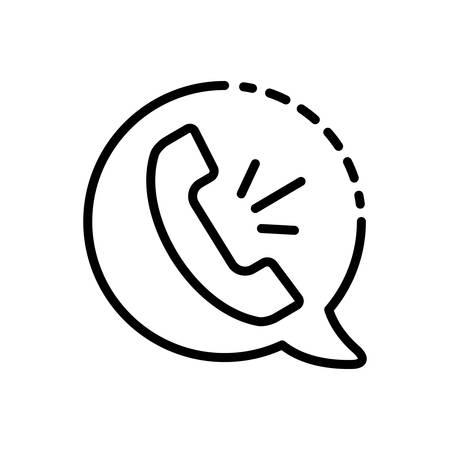 Voice call icon Illustration