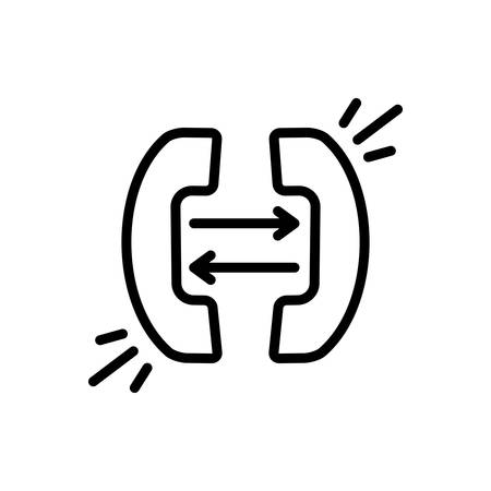 Call  forwarding icon