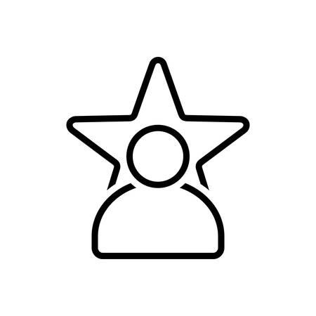 Celebrity icon 矢量图像