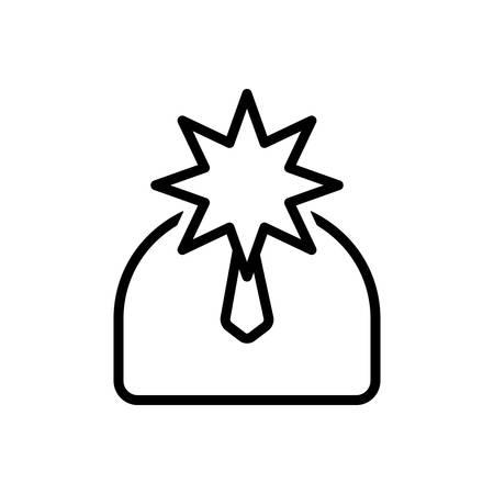 Celebrity icon Ilustrace