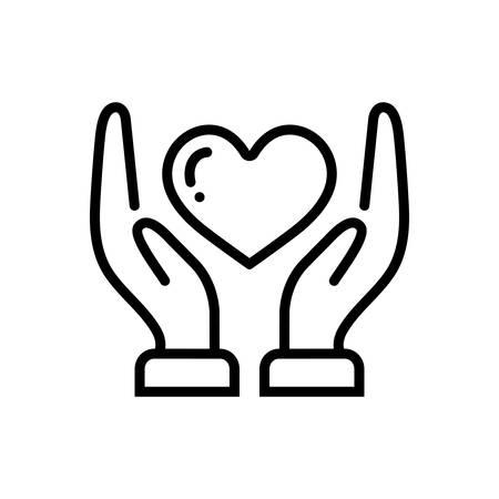 Compassionate icon Zdjęcie Seryjne - 124083012