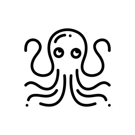 Icon for octopus ,pulpo