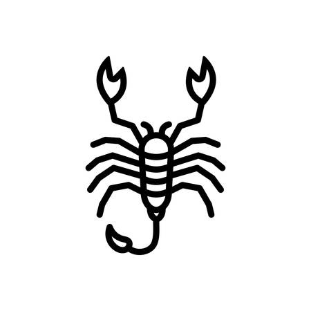 Icon for scorpion, lobster