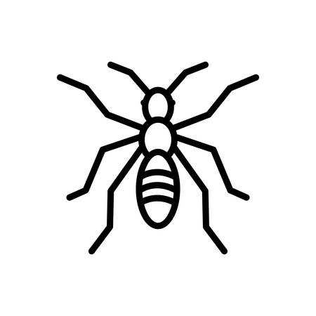 Icon for ant ,insect Stock Vector - 124083067