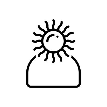 Optimistic icon Stock fotó - 124180630