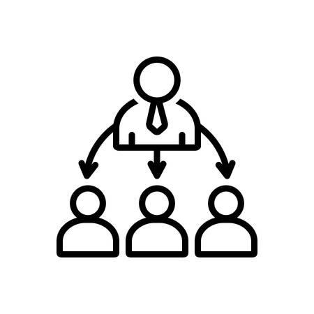 Organized icon Ilustrace