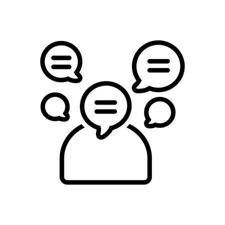 Talkative icon
