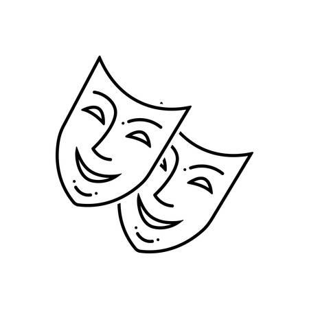 Mask icon 向量圖像