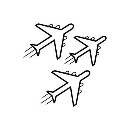 Jet exhibit  icon 向量圖像