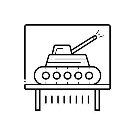 Tank exhibit icon