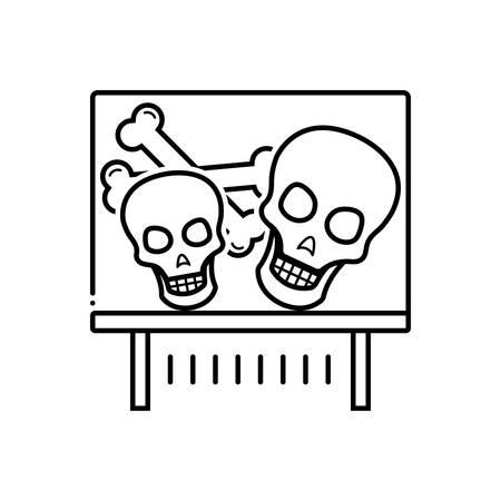 Bones exhibit icon