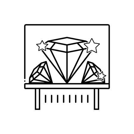 Diamond exhibit icon