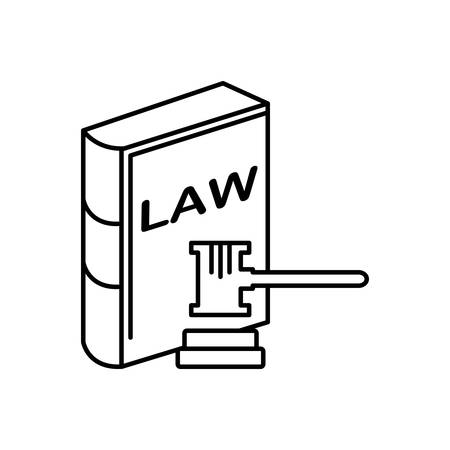 Law and order icon