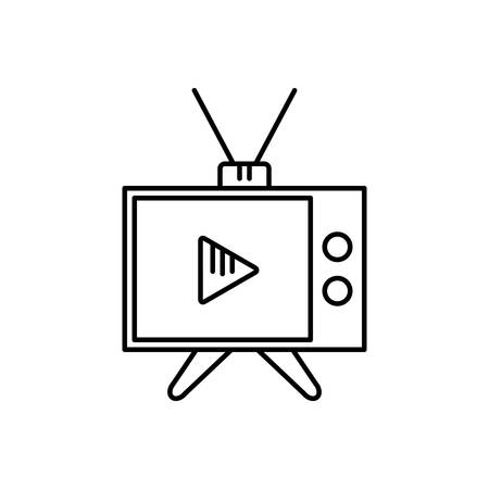 Media icon  イラスト・ベクター素材