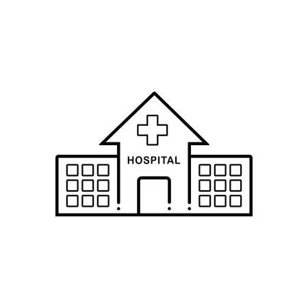 Hospital icon Vecteurs