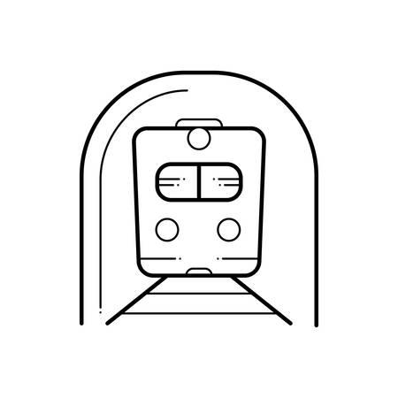Subway icon Stock Illustratie