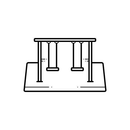 Swings  icon Zdjęcie Seryjne - 124980962