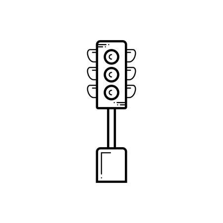 Traffic light  icon 스톡 콘텐츠 - 124980967