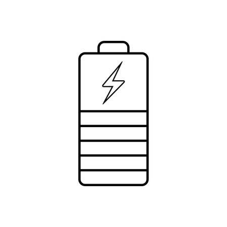 Battery indicator icon Иллюстрация