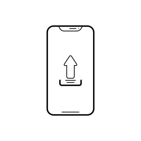 Upload app icon Ilustração