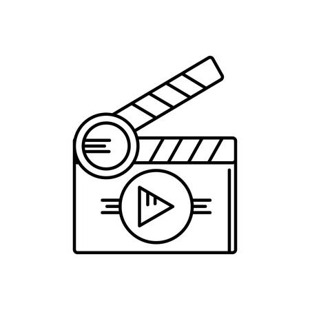 Short films icon Illustration