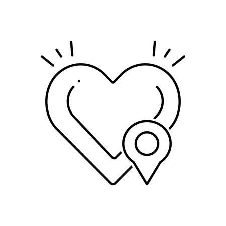 Defibrillator location icon