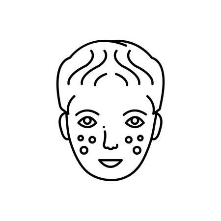 Laser dermatology icon Reklamní fotografie - 124981382
