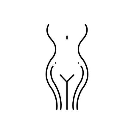 Gynecology icon Banque d'images - 124981387