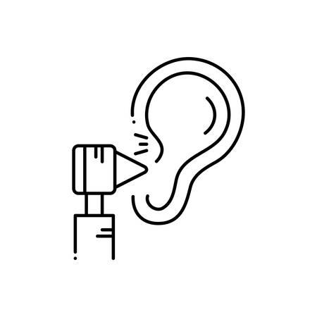 Hearing treatment icon