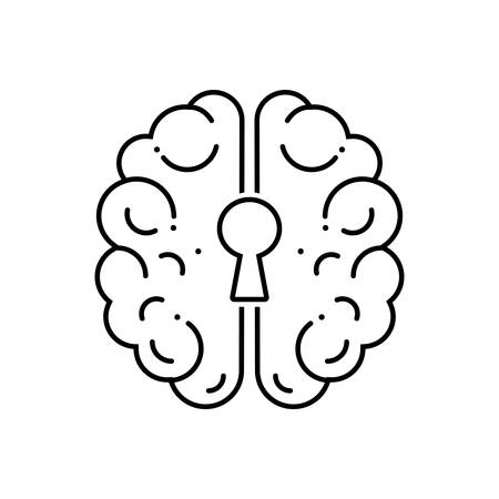 Depression icon Ilustração